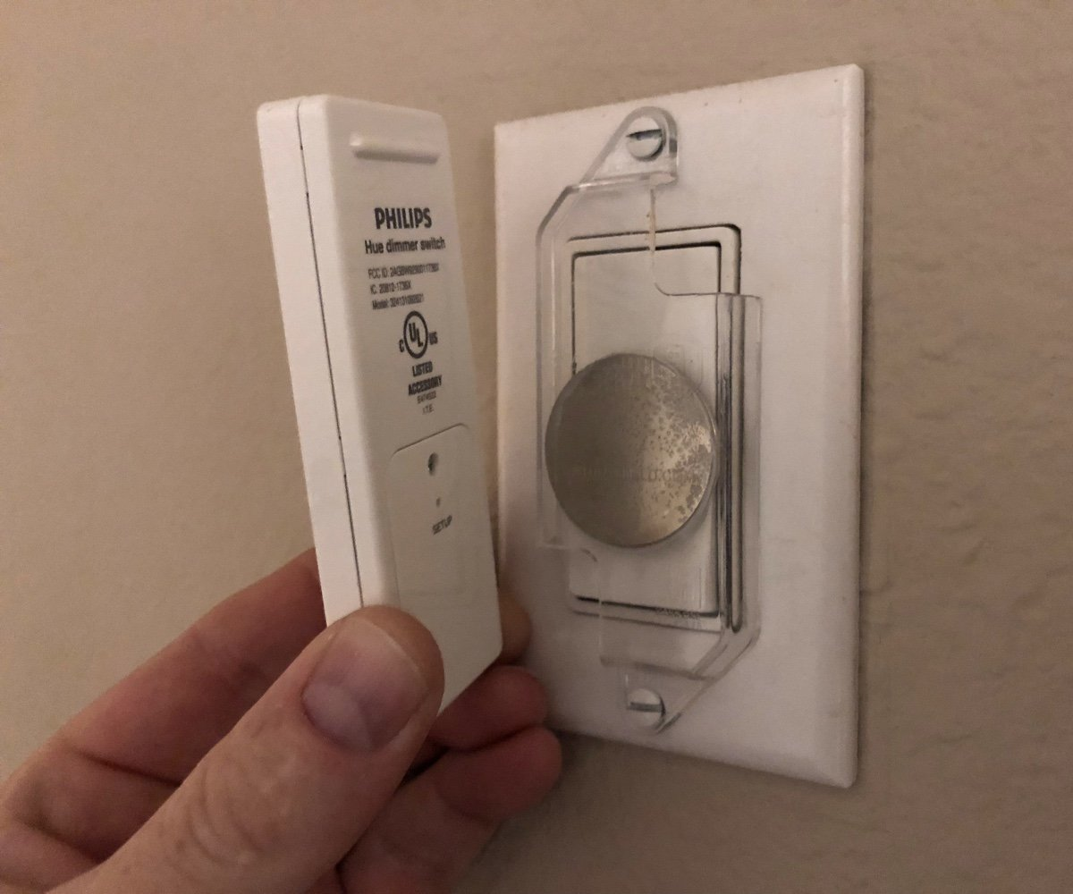 solving hue wall switch problem
